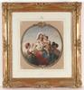 "Theodor Leopold WELLER - Gemälde - ""Italian Family"" by Theodor Leopold Weller"