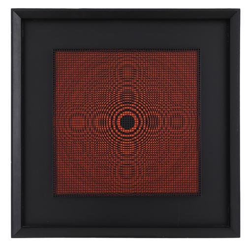 Alberto BIASI - Pintura - Oggetto ottico-dinamico