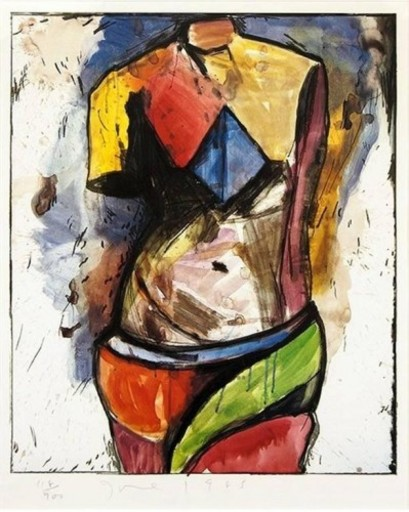 Jim DINE - Stampa Multiplo - The Colorful Venus
