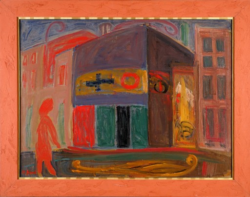 Maurice BLOND - Gemälde - City