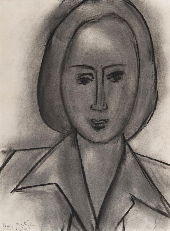 Henri MATISSE - Disegno Acquarello - Monette Vincent