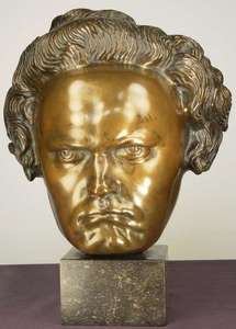Georg GRASEGGER - Skulptur Volumen - Beethoven