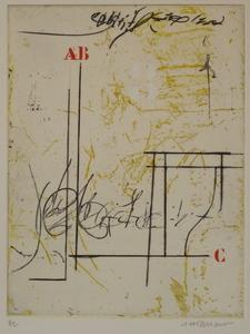 James COIGNARD - Grabado - GRAVURE 1988 SIGNÉE AU CRAYON ANNOTÉE HC HANDSIGNED ETCHING