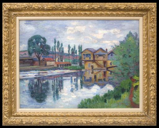 Armand GUILLAUMIN - Pintura - La Scierie de Poitiers