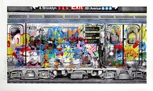 MR BRAINWASH - Print-Multiple - Chelsea Express blue