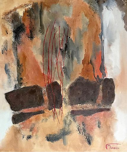 Francis MOREAU - Peinture - Captif