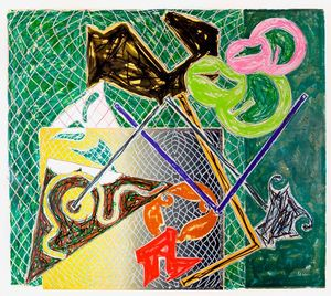 Frank STELLA - Print-Multiple - Shards V