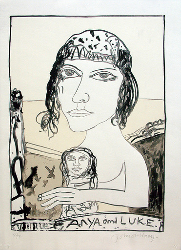 John BELLANY - Print-Multiple - Anya and Luke