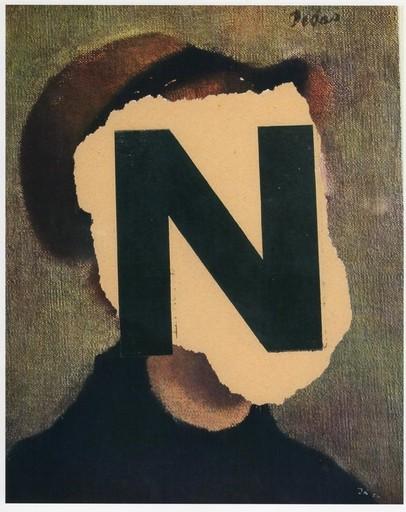 """Jiri KOLAR - Peinture - """"N"""""""