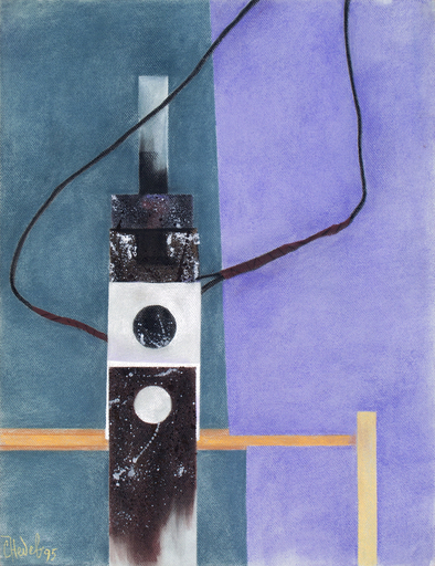 Slav NEDEV - Drawing-Watercolor - Remains of Control 2