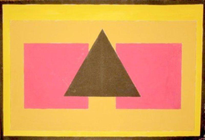 Thilo MAATSCH - Disegno Acquarello - Abstract composition