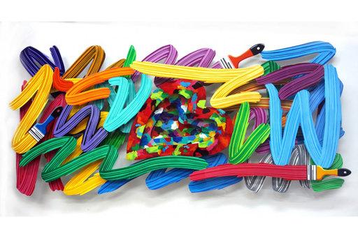 大衛•葛爾斯坦 - 雕塑 - Art Attack