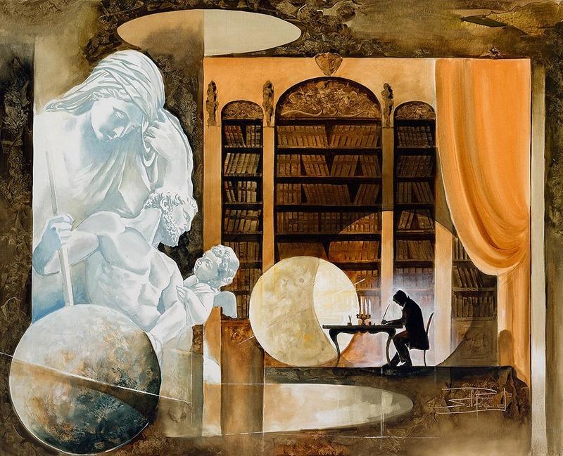 Roger SURAUD - Pittura - Reflexion