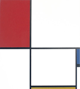 Max BILL - Stampa-Multiplo - Piet Mondrian, after by Max Bill (1908-1994) Composition D