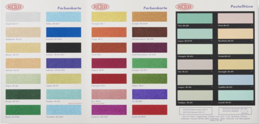 Damien HIRST - Estampe-Multiple - Color Chart with Glitter