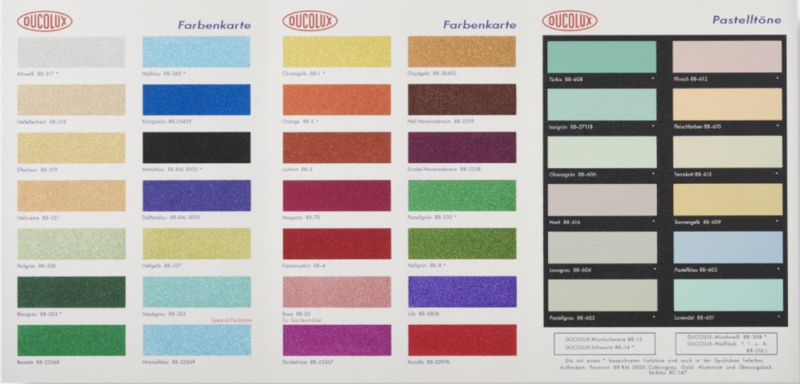 Damien HIRST - Print-Multiple - Color Chart with Glitter