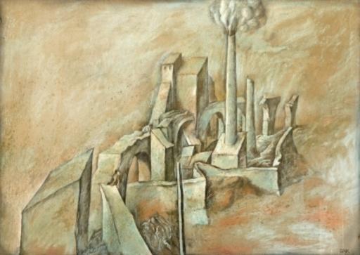 Samuel BAK - Drawing-Watercolor - Landscape
