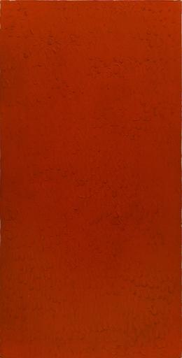 Bernard AUBERTIN - Pittura - Monochrome rouge