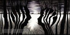 Nina TESCAR - Drawing-Watercolor - At Dawn