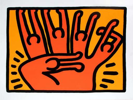 Keith HARING - Print-Multiple - Pop shop VI