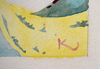 Frantisek KUPKA - Drawing-Watercolor - Untitled (Study for a Pochoir)