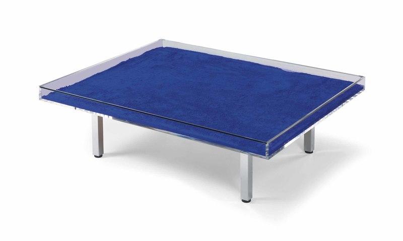 Yves KLEIN - Table Monochrome Bleu