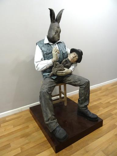 HU Qingyan - Sculpture-Volume - Dialogue