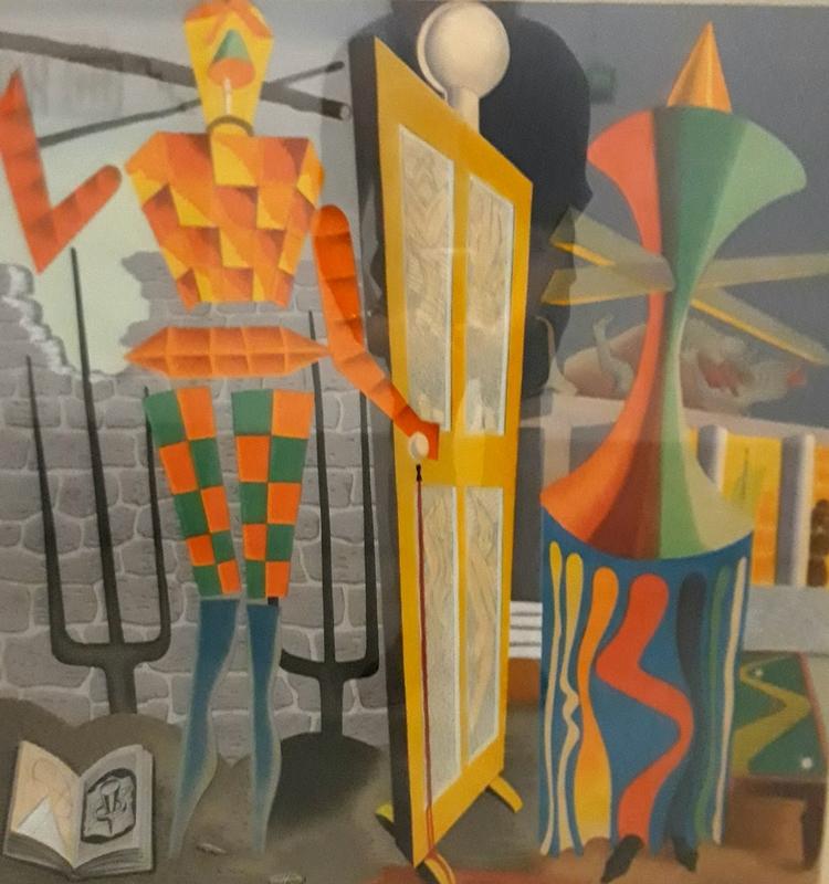 曼•雷 - 版画 - Le beau temps,1973