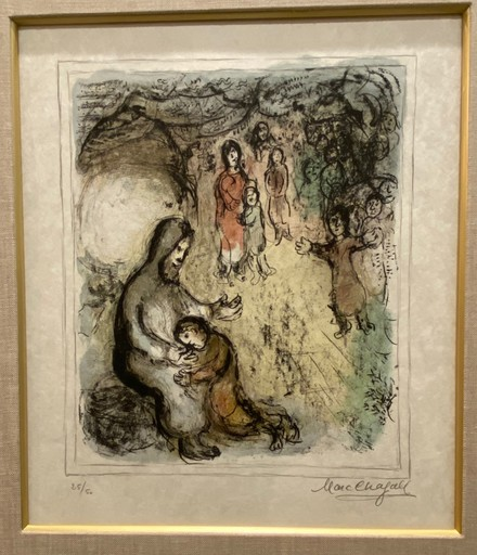 Marc CHAGALL - Estampe-Multiple - Jacob's Blessing