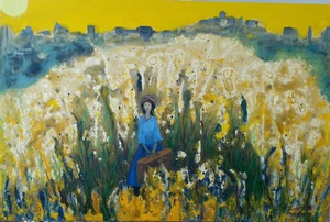 ZHENG Judy C. - Gemälde - Get Away From The Noisy City