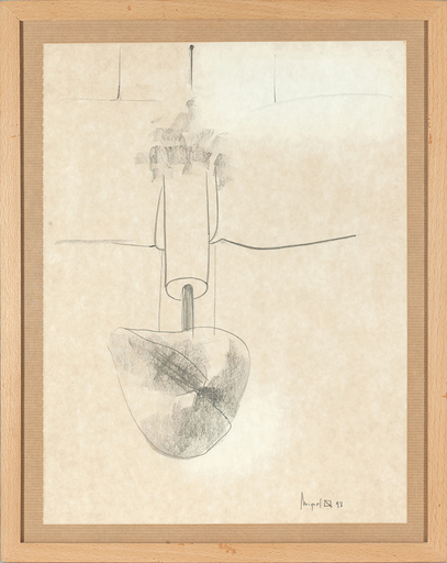 Miquel NAVARRO - Drawing-Watercolor - Mater Materia