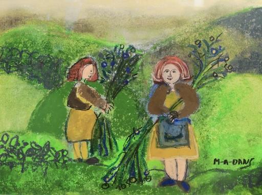 María Antonia DANS - Pintura - Mulleres labregas