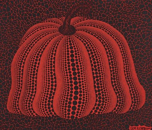 Yayoi KUSAMA - Grabado - Pumpkin 2000