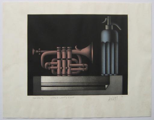 Mario AVATI - Druckgrafik-Multiple - GRAVURE 1974 SIGNÉE AU CRAYON NUM/15 HANDSIGNED NUMB ETCHING