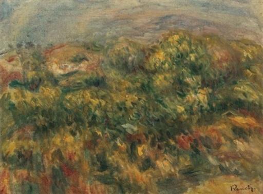Pierre-Auguste RENOIR - Pintura - Paysage