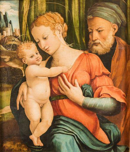 Pier Antonio PALMERINI - Painting - La Sacra Famiglia