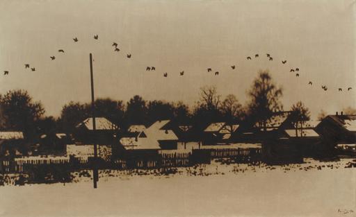 Rinat VOLIGAMSI - Painting - Birds