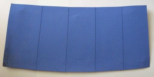 Albert CHUBAC - Peinture - Monochrome bleu