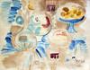 Raoul DUFY - Drawing-Watercolor - Nature Morte a la Carafe