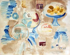 Raoul DUFY - Disegno Acquarello - Nature Morte a la Carafe