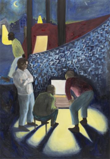 Martin FAURE - Pittura - «Porte de la chapelle»,