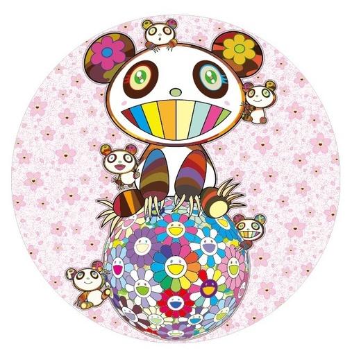 Takashi MURAKAMI - Grabado - Sakura & Panda