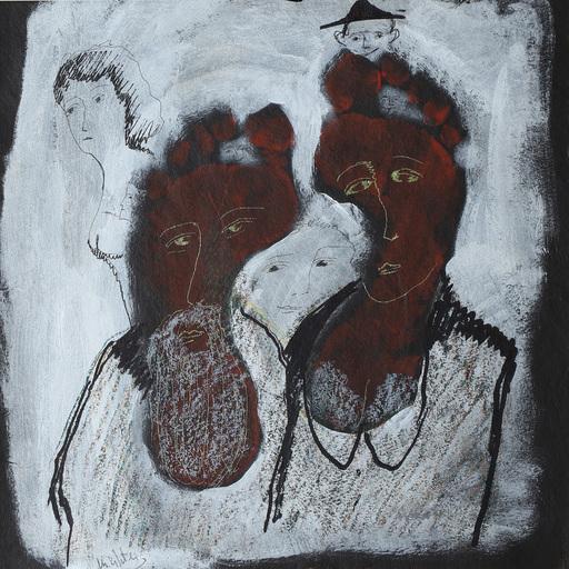 Zvi MILSHTEIN - Painting - le pied