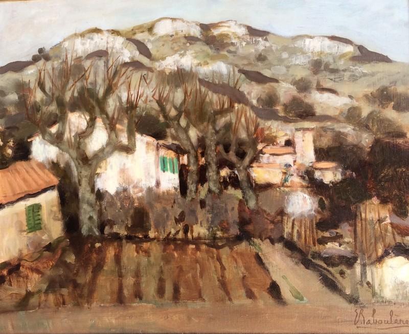 Eugène BABOULENE - Painting - La Valette