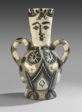 Pablo PICASSO - Céramique - Vase deux anses hautes