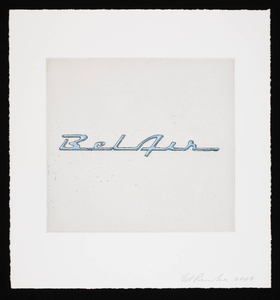 Ed RUSCHA - Print-Multiple - Motor City (Bel Air)