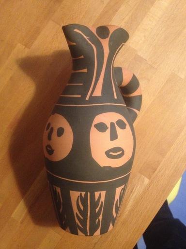 Pablo PICASSO - Ceramiche - YAN BANDEAU NOIR