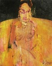 Serge LABÉGORRE - Painting - Nu féminin