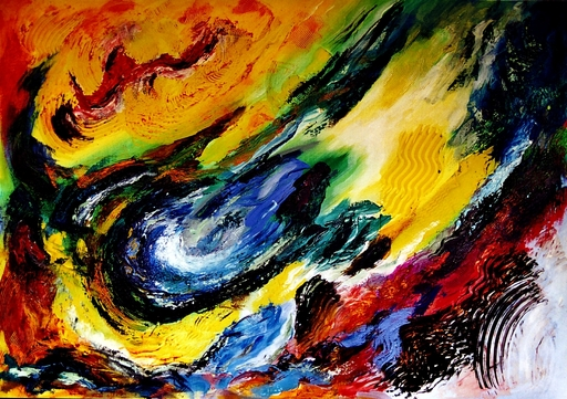 Didier ANGELS - Peinture - La Source de Vie