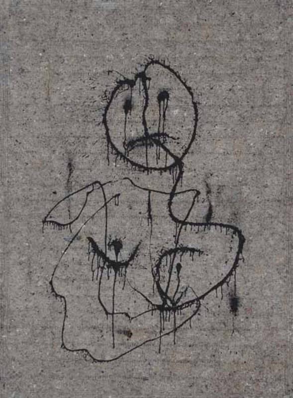 """Gérard ZLOTYKAMIEN - Pintura - """"Éphémère"""""""